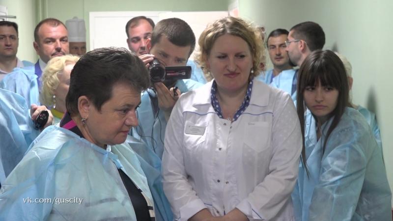 Компьютерный томограф заработал в Гусь-Хрустальном МСКТ