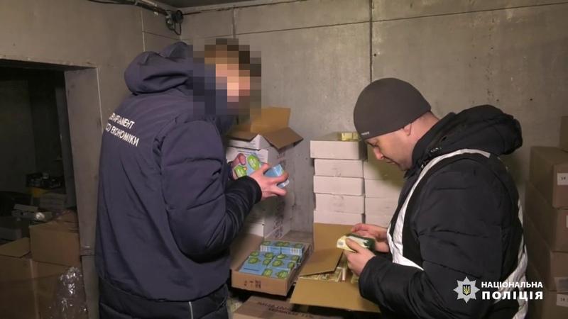 Запорізькі поліцейські припинили постачання неякісних продуктів харчування до дитячих закладів