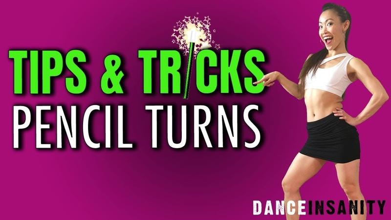 How to dance the Pencil Turn Spinning Crash Course Part 2