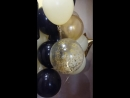 Облако в цветовой гамме:Айвори,черный и золото