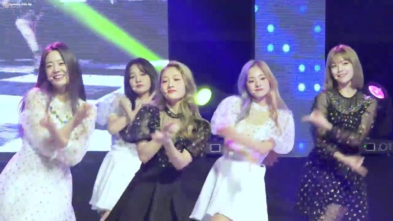 [4K] 181011 프로미스나인 (fromis_9) LOVE BOMB 이서연 직캠 Fancam by Syeonny Side Up @ 극동대학교