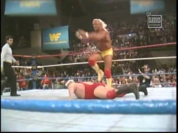 Hulk Hogan vs Boris Zhukov SuperStars May 14th 1988