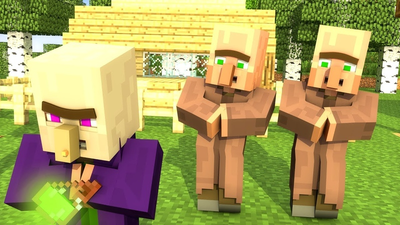 Villager Witch Life 2 Minecraft Animation