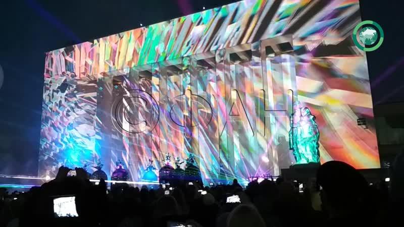Весенний фестиваль света стартовал в Петербурге