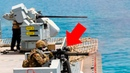 Amazing Naval Guns! Sailors Firing the M242, M134, DS30M, Mk38, Twin M2 M240 in Action
