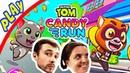 БолтушкА и ПРоХоДиМеЦ Бегут в МИРЕ СЛАДОСТЕЙ! 163 Игра для Детей - Говорящий Том БЕГ за конфетами