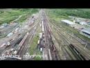 Сход вагонов на станции Беркакит