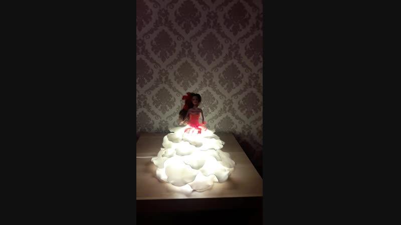 ручная работа светильник в комнату принцессы