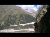 Водопад на ущелье Адыр- Суу на Улуу-Тау