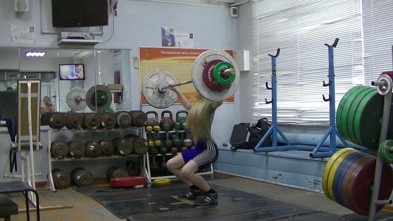 Отегов Степан,13 лет, вк 41 Рывок 37 кг Есть личный рекорд!