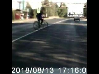 Бабуля-велосипедистка поехала под Волгу