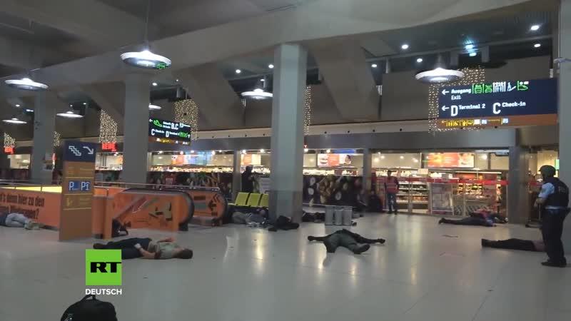 Ein einziges Gemetzel: Riesige Anti-Terror-Übung mitten am Flughafen Köln/Bonn