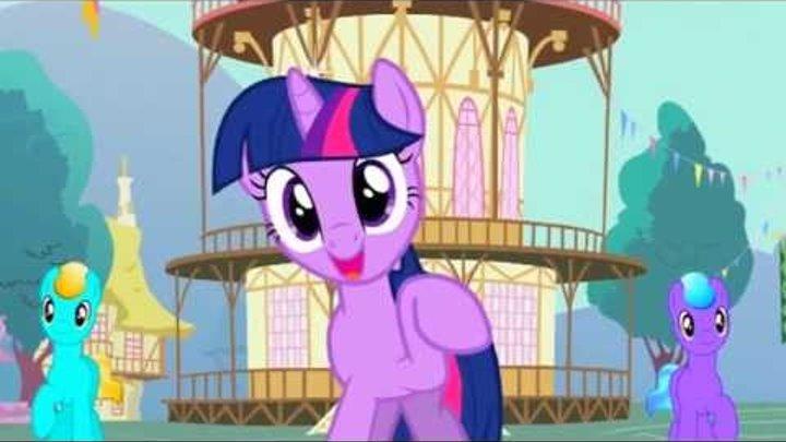 Мой AMV PMV My Little Pony friendship is magic - Twilight Sparkle RAP ver.2 RUS