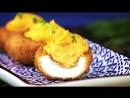 Фаршированные яйца во фритюре