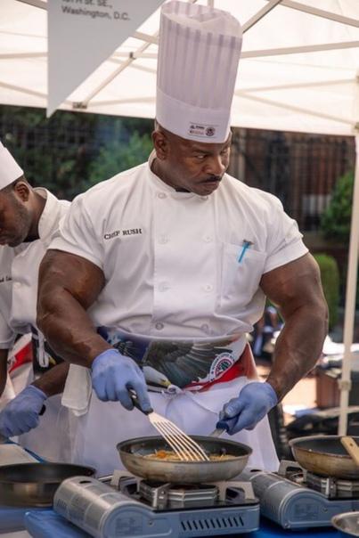 Андре Раш (Andre Rush), шеф-повар Белого дома