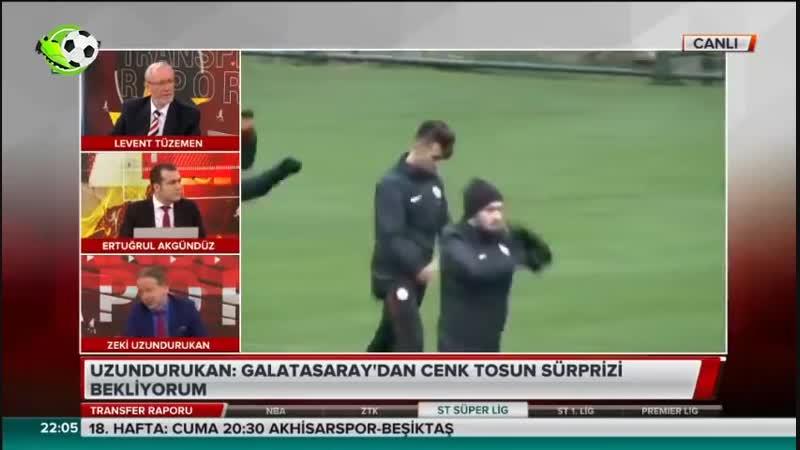 Galatasaray Transfer Raporu Cenk Tosun ve Marcao Transfer Yorumları
