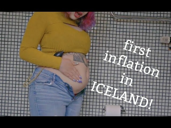 First Belly Inflation in Iceland