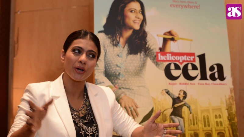 Kajol exclusive interview on awards, family and films including her latest Helicopter Eela