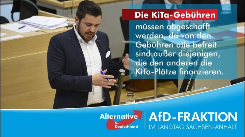 Tobias Rausch Die KiTa-Gebühren müssen abgeschafft werden!