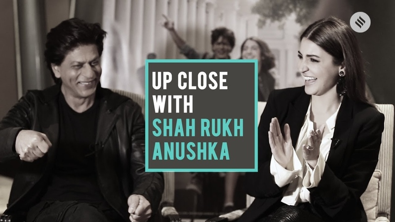 EXCLUSIVE Zero Movie Promotion Shah Rukh Khan and Anushka Sharma Up Close