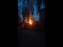 В черемушках горят гаражи