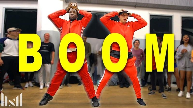 BOOM Tiesto ft Gucci Mane Dance Matt Steffanina