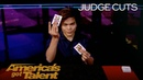 Shin Lim Proves Magic Is Real With Unbelievable Card Tricks - America's Got Talent 2018
