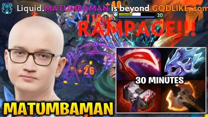 Matumbaman Phantom Assassin RAMPAGE Fountain Ending