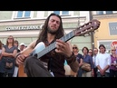 Russian guitarist Estas Tonne playing 'The Song Of The Golden Dragon' at the 2011 Buskers Festival