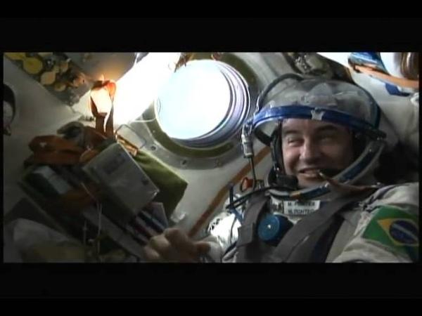 Marcos Pontes no Espaço - Sbt Repórter (1)