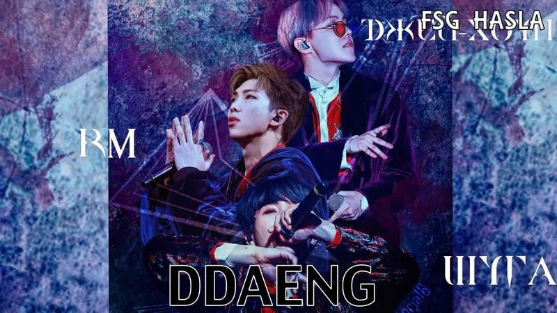 10 июн. 2018 г. [RUS SUB]BTS RM, J-HOPE, SUGA 'Ddaeng'(땡) BTSFESTA2018