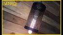 ЛОФТ светильник из хлама   LOFT lamp from trash