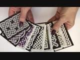 набор кельтских карточек