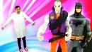 Видео с игрушками Бэтмен - Джокер уменьшил Доктора Ой! – Игры для мальчиков.
