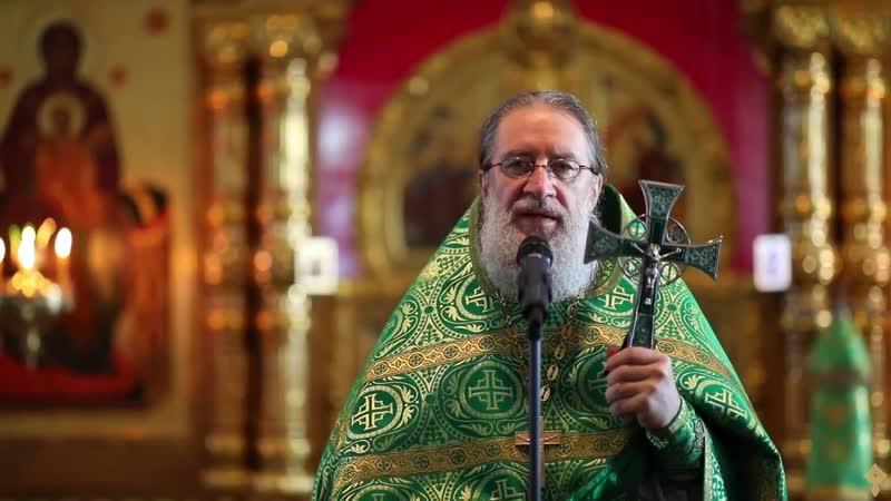 Проповедь иеромонаха Саввы в день Святой Троицы 16 июня 2019 года
