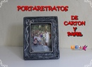 Portafotos de carton y papel Picture frame cardboard and paper