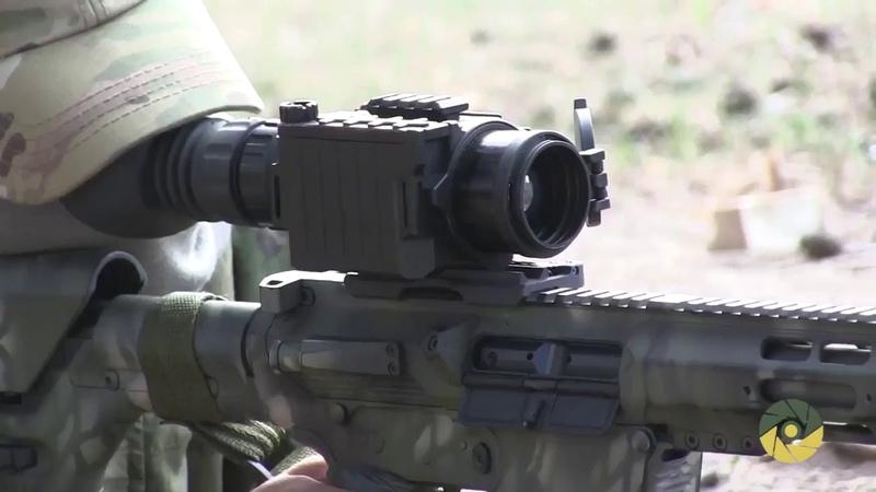 Дівчина снайпер ЗСУ та її гвинтівка АТО ВСУ