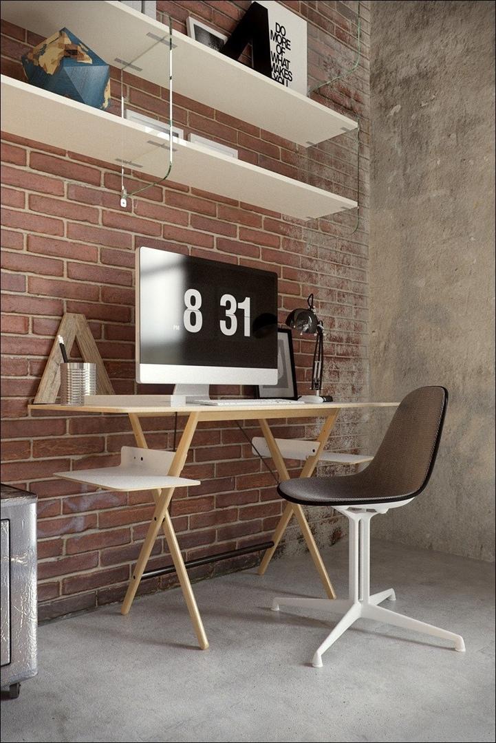 Старый цех превращается в стильную квартиру.