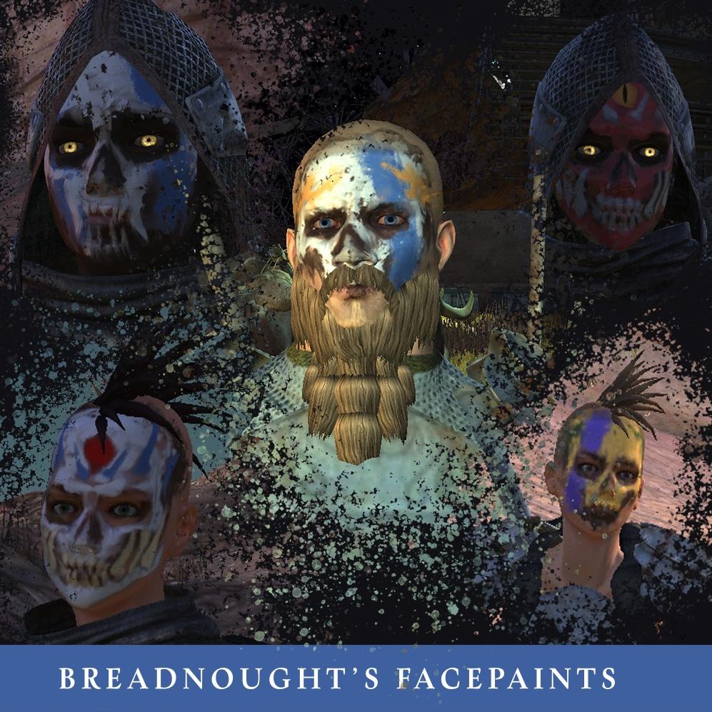 Breadnought's Facepaints / Маскировочные рисунки