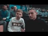 Рома Сидорчик (Stand-Up UNION) на матче «Цмокі-Мінск»