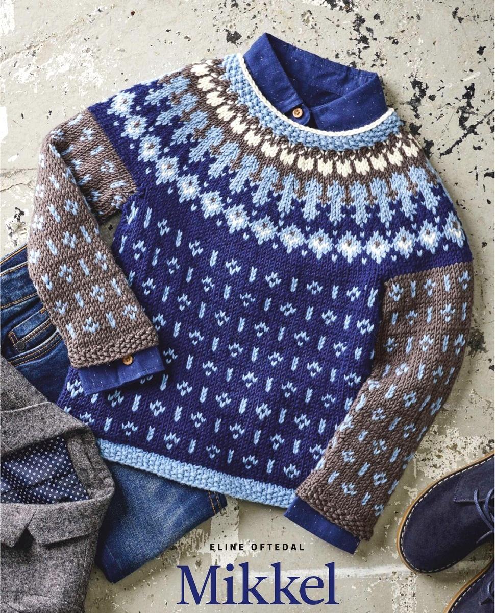 Детский пуловер Mikkel от Eline Oftedal