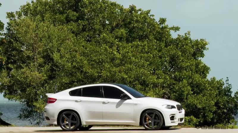 BMW X6 on 22 Vossen VVS-CV3 Concave Wheels _ Rims