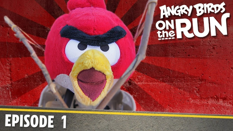 Angry Birds on The Run | On The Other Side - S1 Ep1