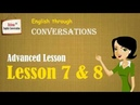 English through conversations with subtitle - Advanced Level - Lesson 7 8