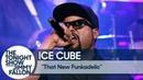 Выступление Ice Cube с треком «That New Funkadelic» на шоу Джимми Фэллона