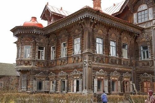 Мотивы русской архитектуры