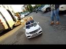 Детская двухместная электромашина Mercedes GLS 63