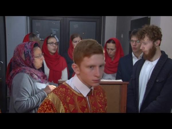 Встречи с Архиереем - Архиерейское богослужение в храме св. вмч. Димитрия Солунского