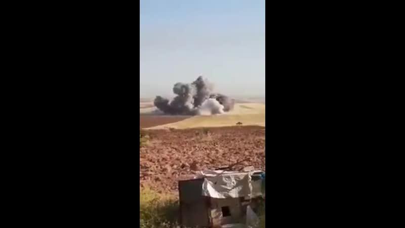 Suriye-İdlip - Rus-Şam rejimi hava kuvvetleri Hamanın Kuzey kırsalında ki yerleşkeleri hedef aldı.