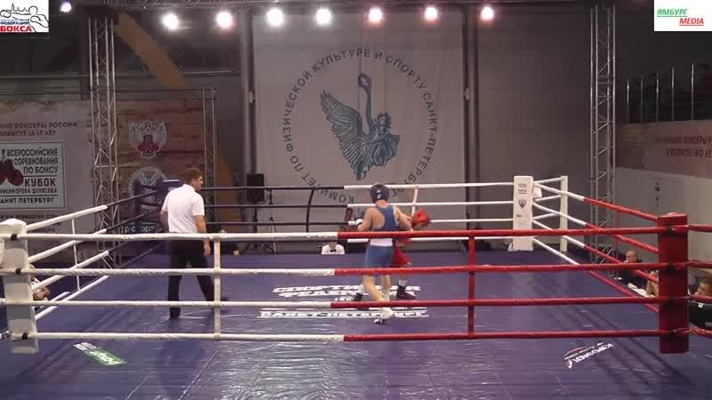Шишенин Иван (Москва) vs Костюков Семен (ХМАО-Югра) 56кг